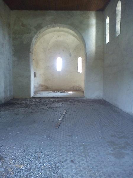 A templom már évek óra üresen áll