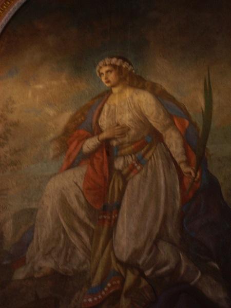 A Szent Katalin-oltárkép  Csáky Károly  felvételén