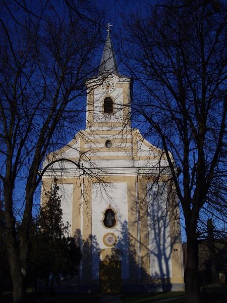 A gyerki templom  Csáky Károly felvételén