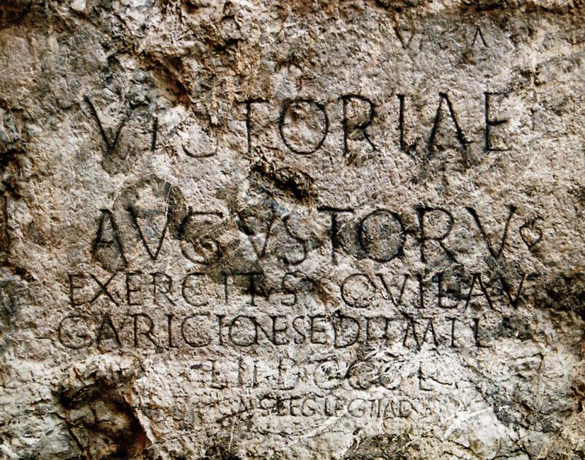 A trencséni római felirat