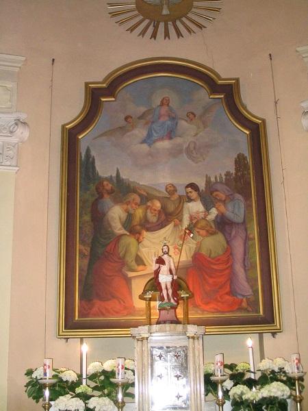 Mennybemenetel az Ipolyszalkai templomban Csáky Károly felvételén