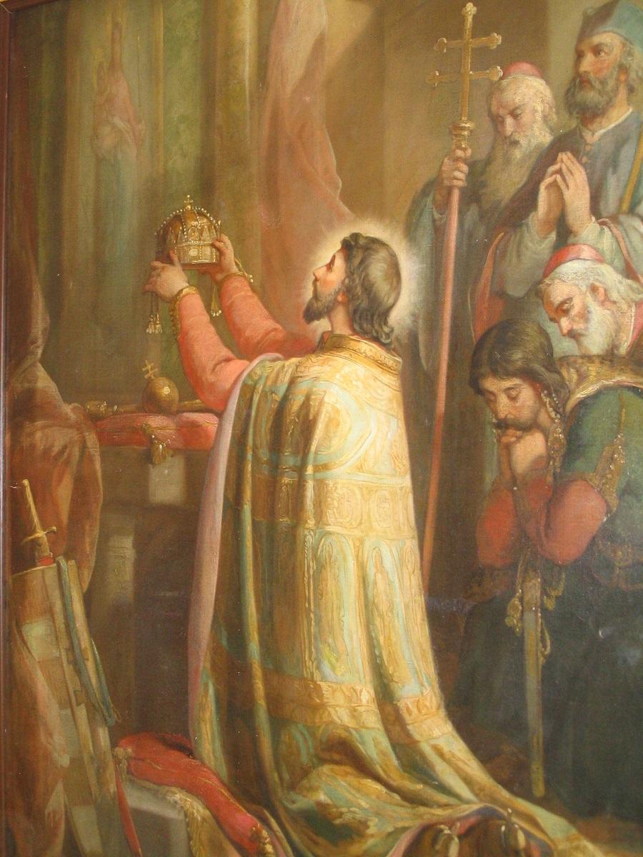 Szent István. Kéméndi plébánia. Csáky Károly felvétele