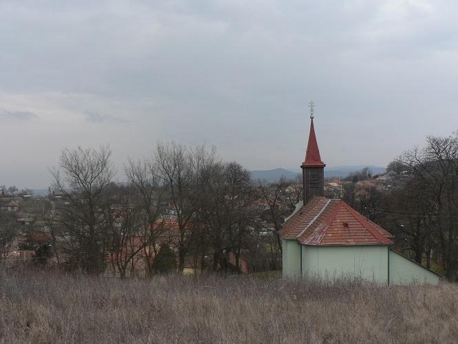 A bajtai Kisboldogasszony-templom Csáky Károly  felvételén