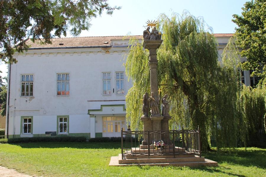 A gimnázium jelenlegi épülete