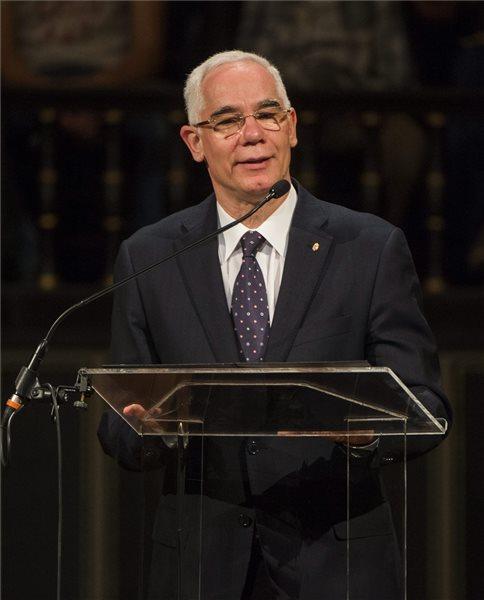 Balog Zoltán az emberi erőforrások minisztere