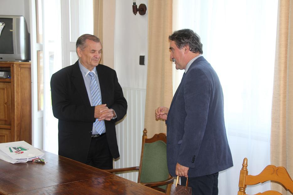 Lezsák Sándor és Bárdos Gyula