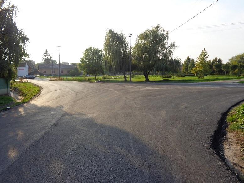 Muzsla község felújított útjai 5