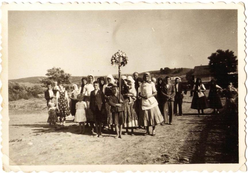 Palásti búcsúsok 1941-ben Csáky Károly gyűjteményéből