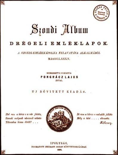 A Pongrácz szerkesztette Szondi Album