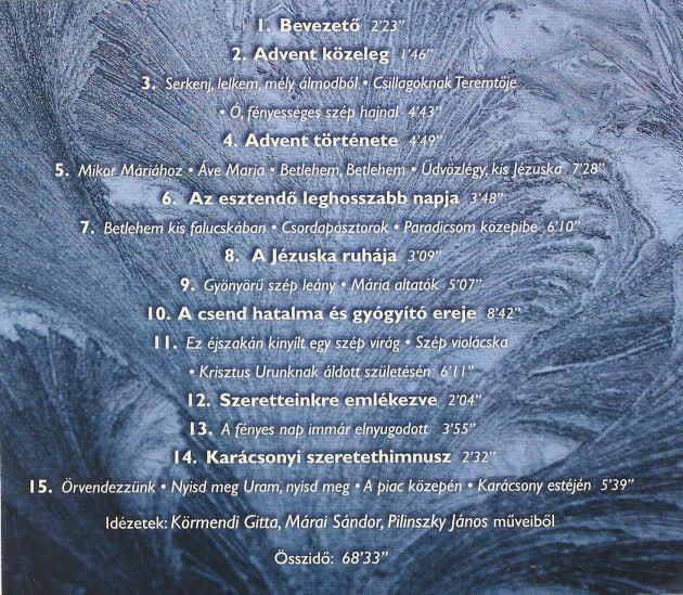 A Várakozás CD tartalma
