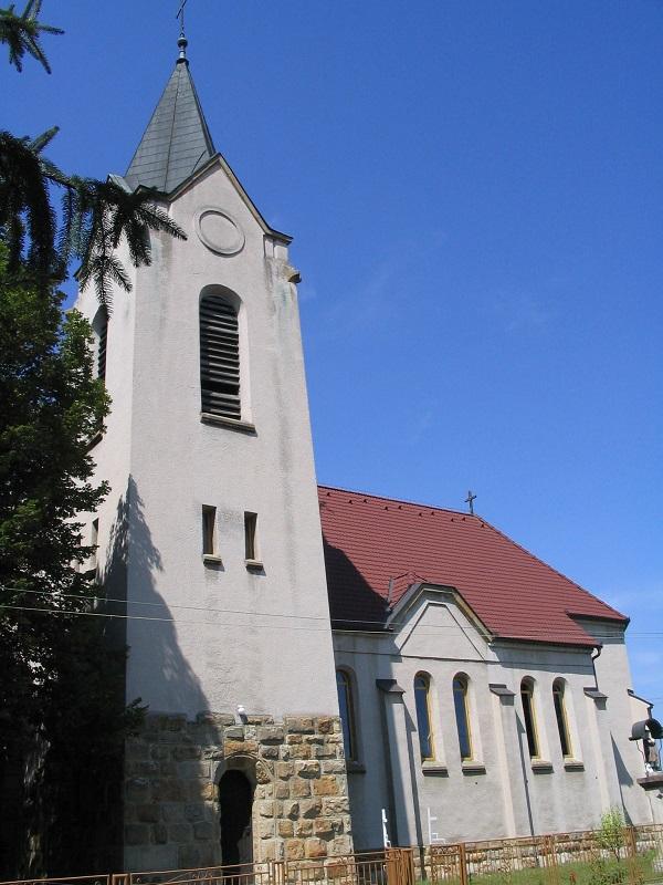 A csalomjai szecessziós templom