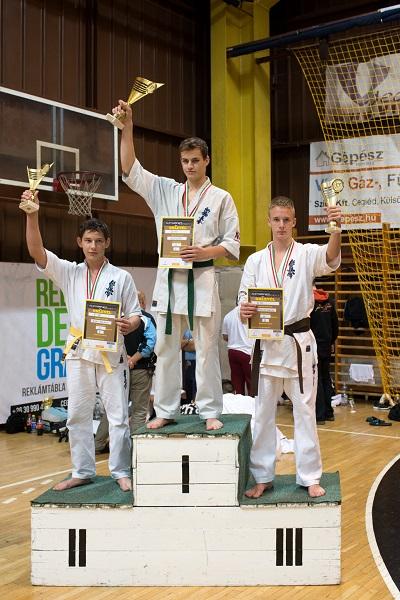 A harmadik helyezett Trenčík Nikolas