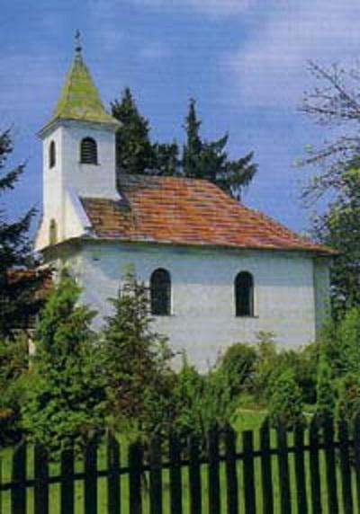 A hontcsitári kegyhely kápolnája