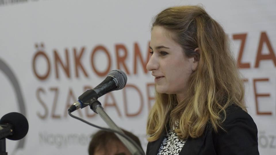 Fazekas Anna a Nemzetpolitikai Államtitkárság munkatársa