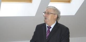 Huszár László a a Szlovákiai Magyar Művelődési Intézet igazgatója