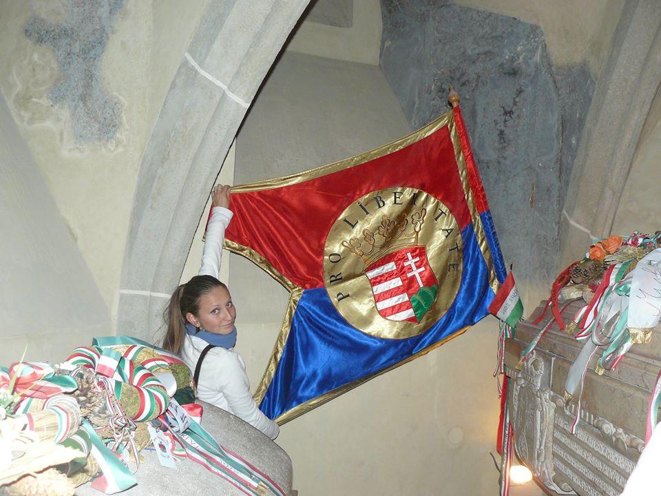 II. Rákóczi Ferenc zászalaja