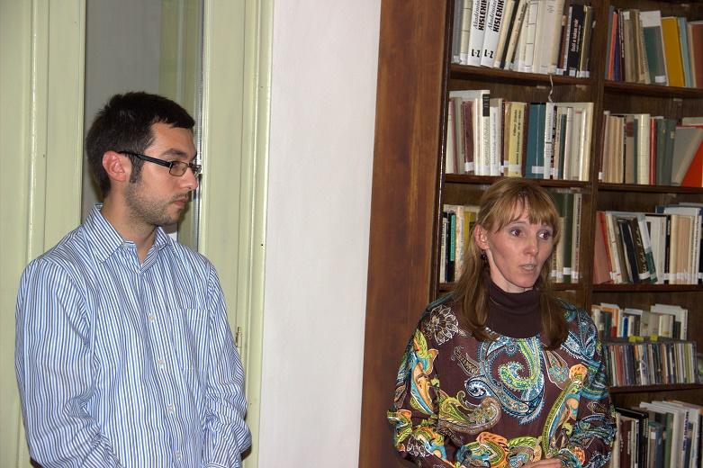 Kovács Ágnes bemutatja a vendéget