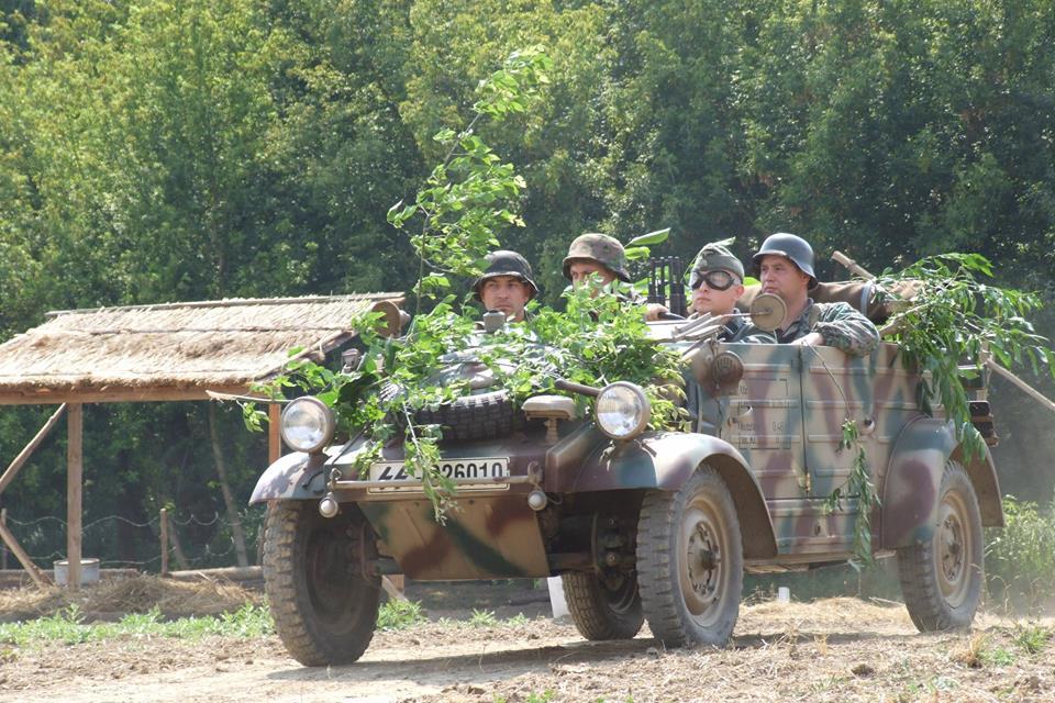 Német harckocsiban