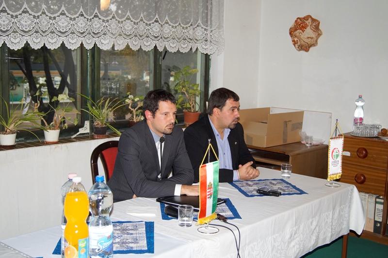 Pallér Péter és Szávay István