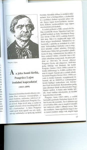 Portré Pongrácz Lajosról a szerző könyvében 2005
