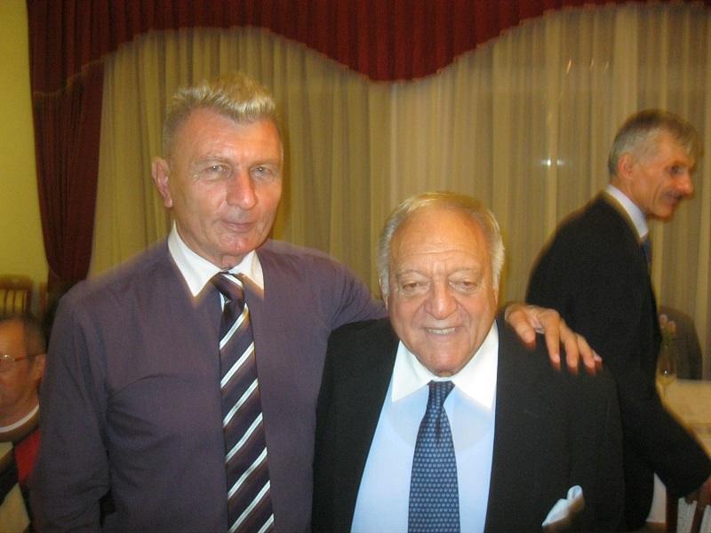 Révész Ferenc Aján Tamással a MOA elnökével