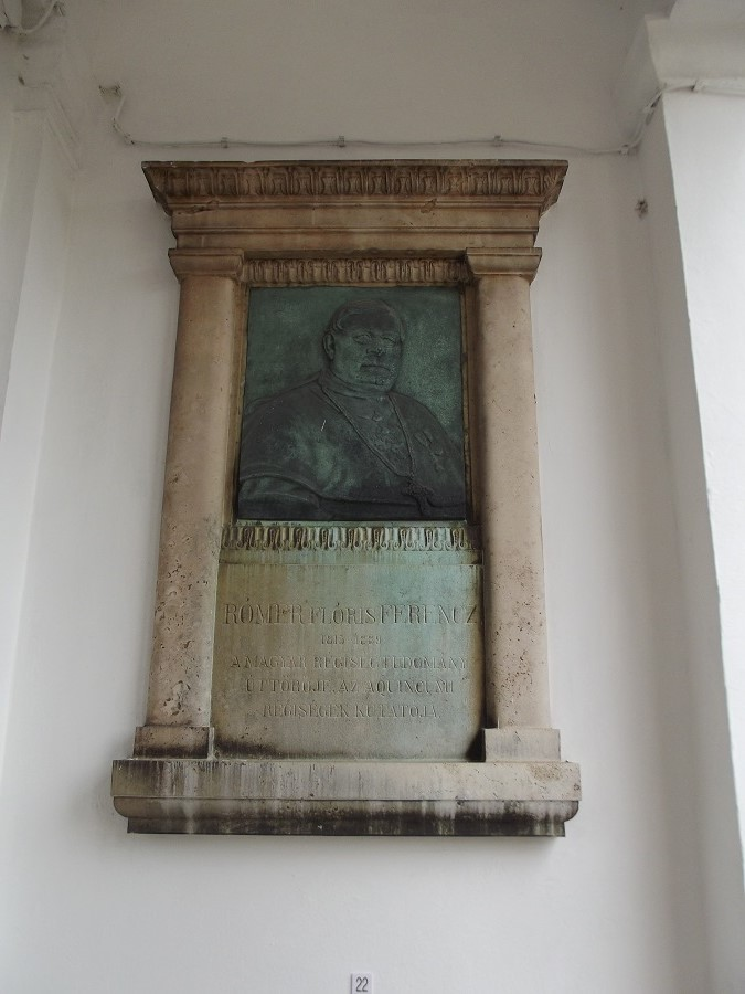 Rómer Flóris emlékmű az Aquincum Múzeumban