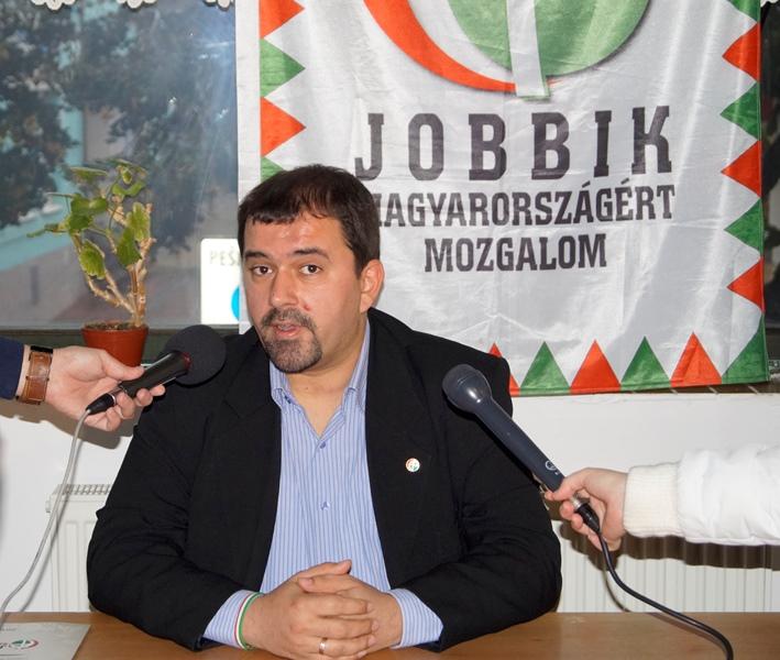 Szávay István a Jobbik országgyűlési képviselője