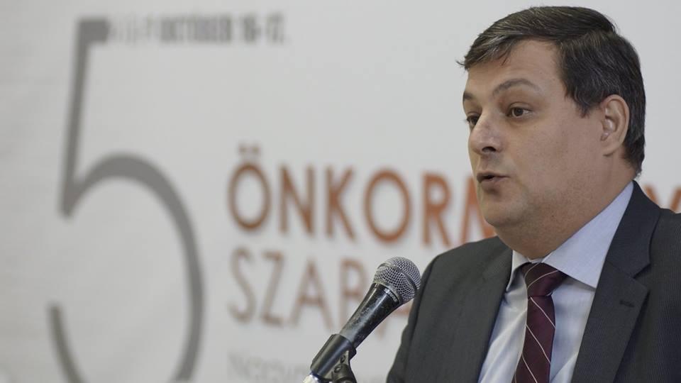Szakáli István Loránd agrárfejlesztésért és hungarikumokért felelős helyettes államtitkár