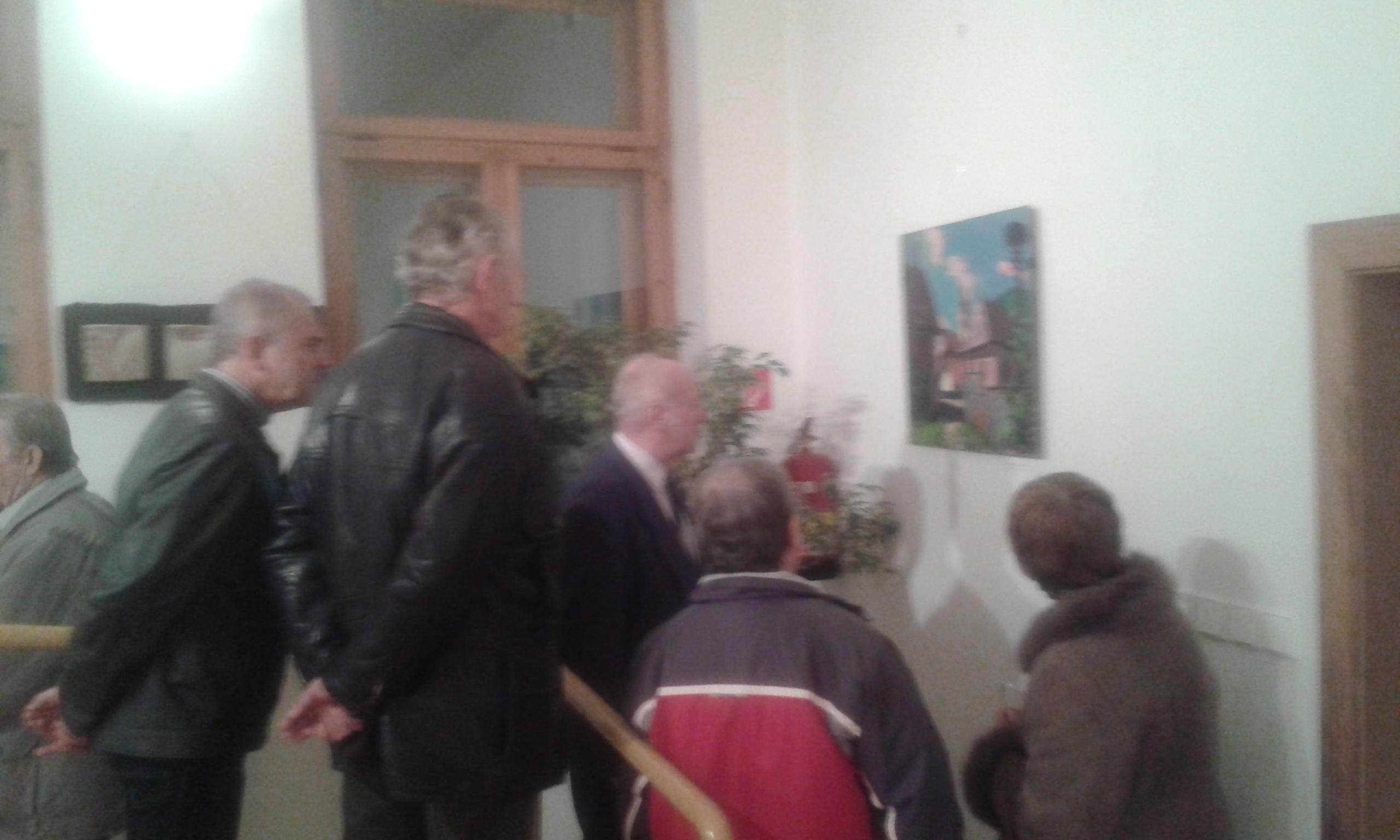 A 2015-ös eNRA kiállítás megnyitója Rosznyón