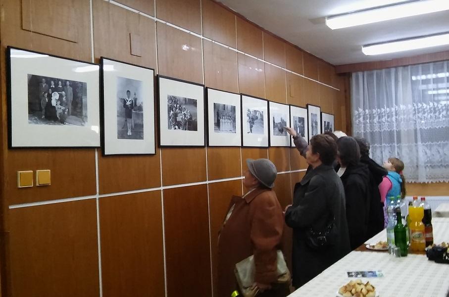 A kiállítás egy része