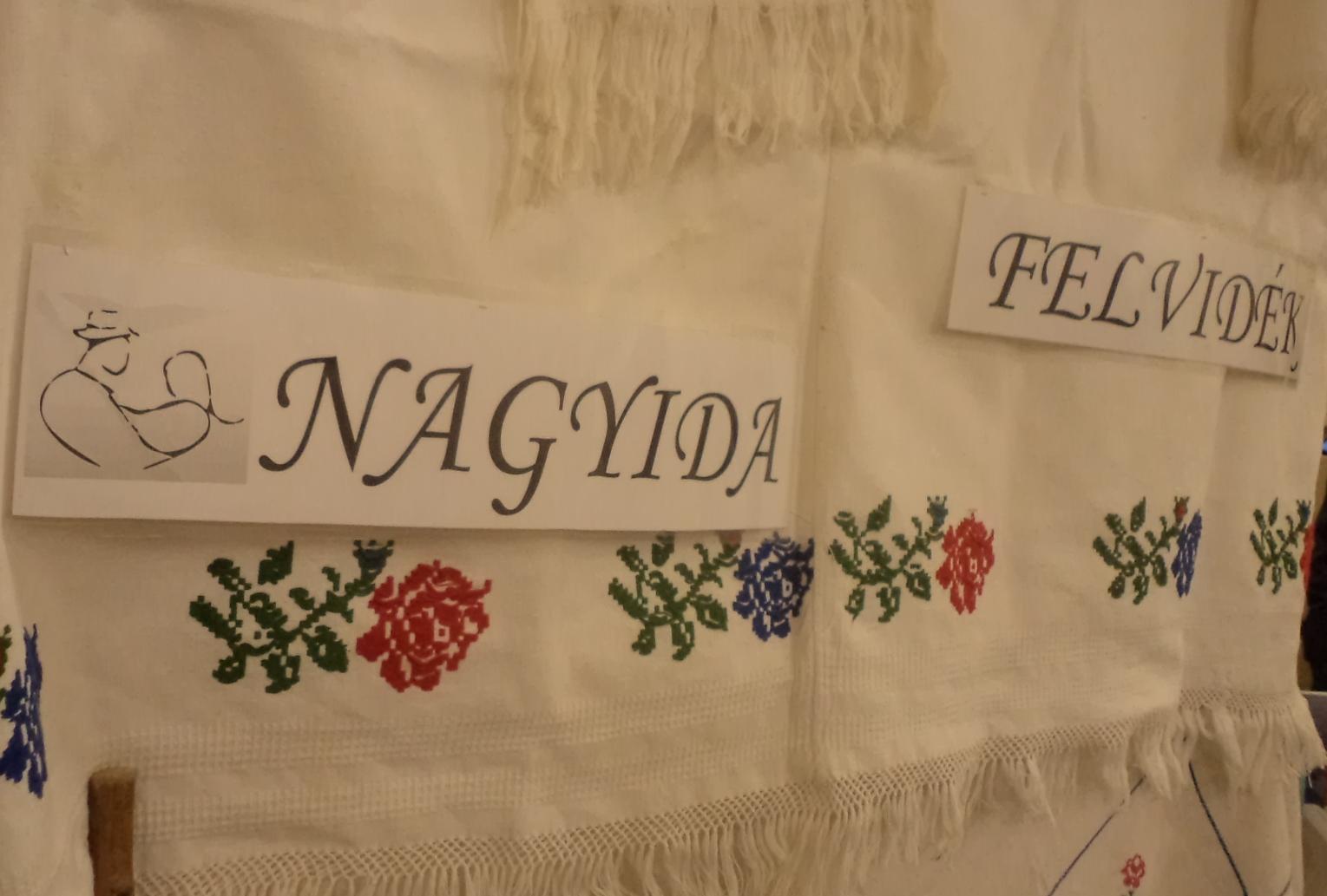 A szórványt a Felvidékről Nagyida képviselte