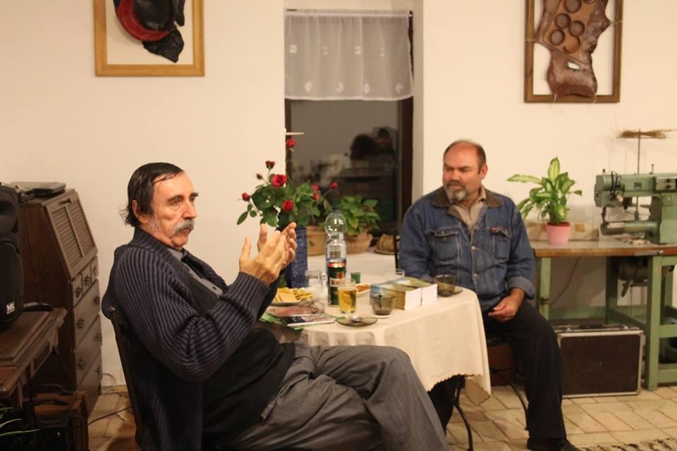 Csáky Károllyal Karaffa Gyula beszélgetett
