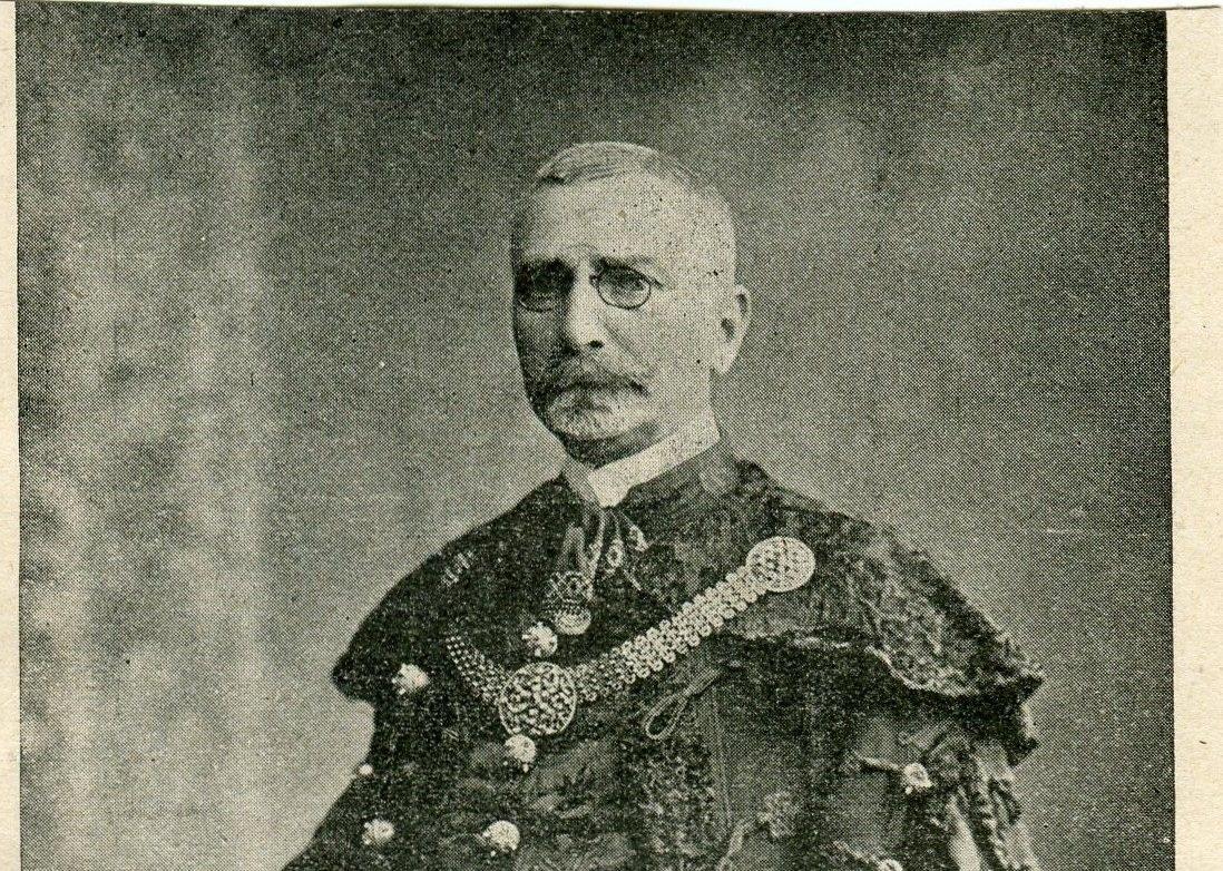 Czobor László portréja az 1907-as Honti Naptárból - kópia