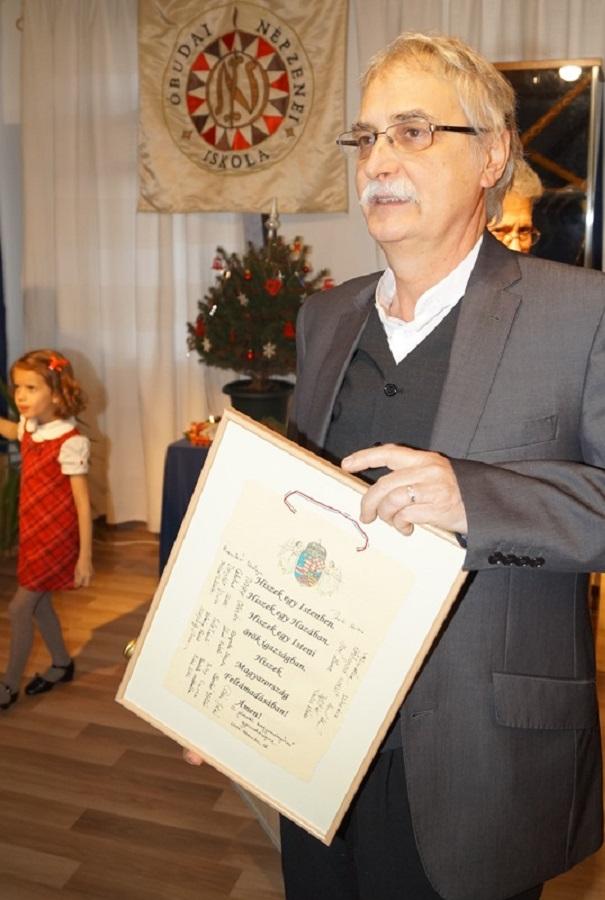 Kobzos Kiss Tamás és a Magyar Hiszekegy