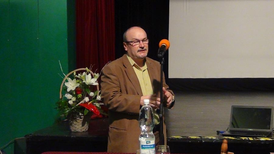 Palik Zoltán a miskolci Esély és Részvétel Közhasznú Egyesület vezetője