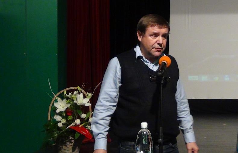 Pallag György a komáromi Kárpátia Sport társulás elnöke