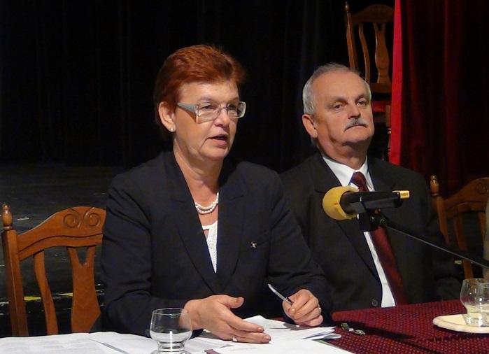 Pogány Erzsébet és Pásztor István