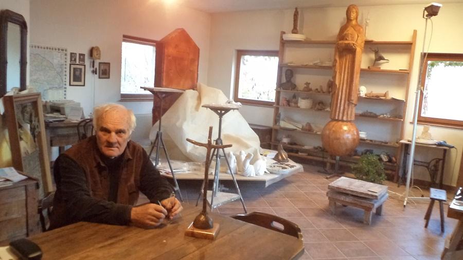 RiegerTibor és a királyfiakarcsai szobor