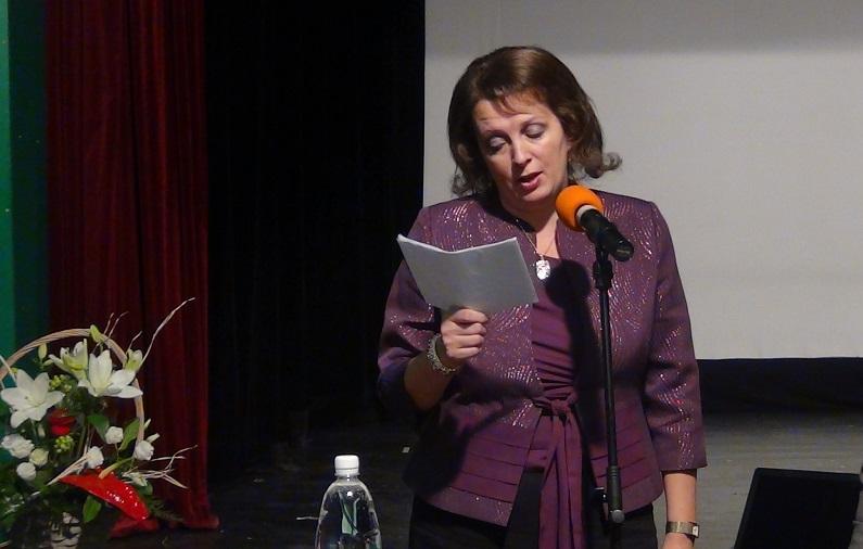 Schwartz Katinka a Szlovákiai Magyar Szülők Szövetségének alelnöke