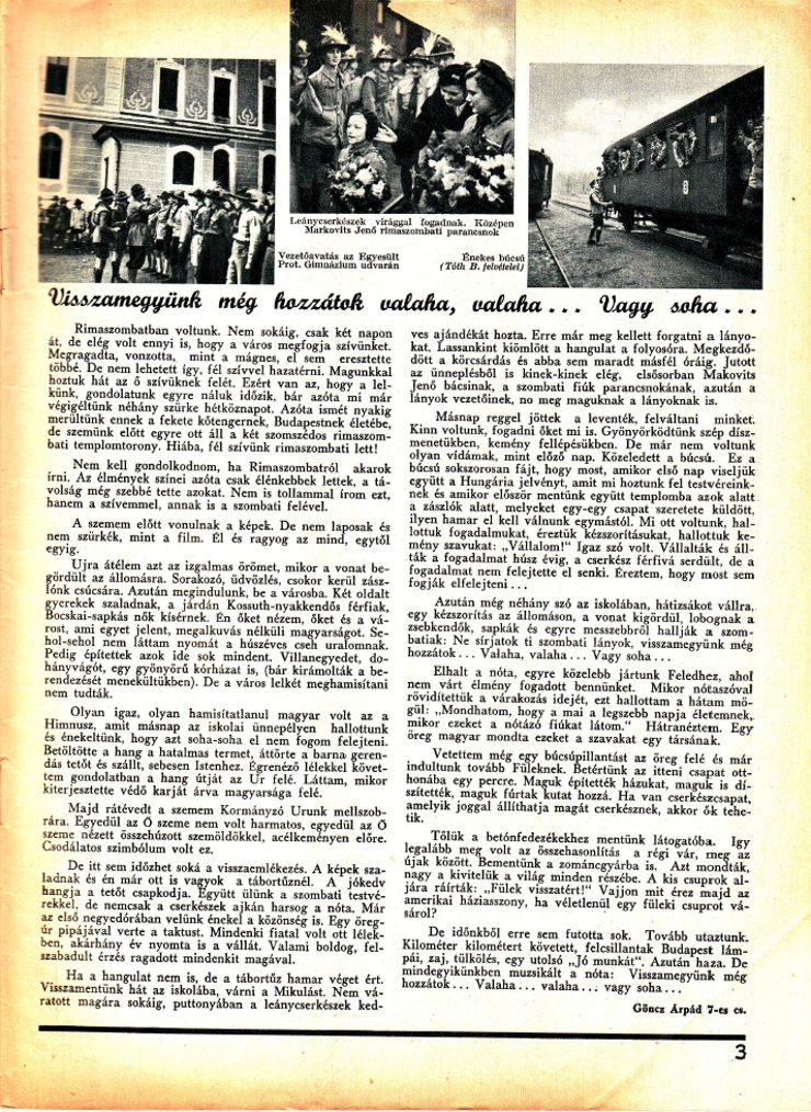 goncz arpad magyar cserkesz 1938