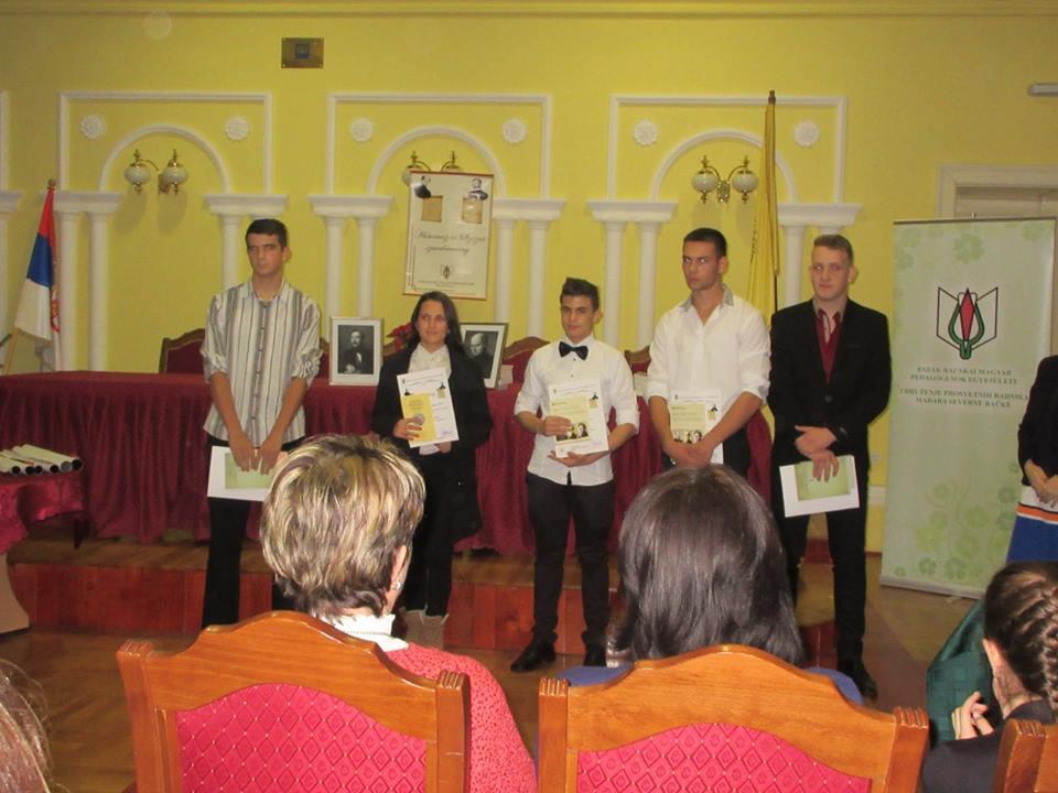 A kategória díjazottjai