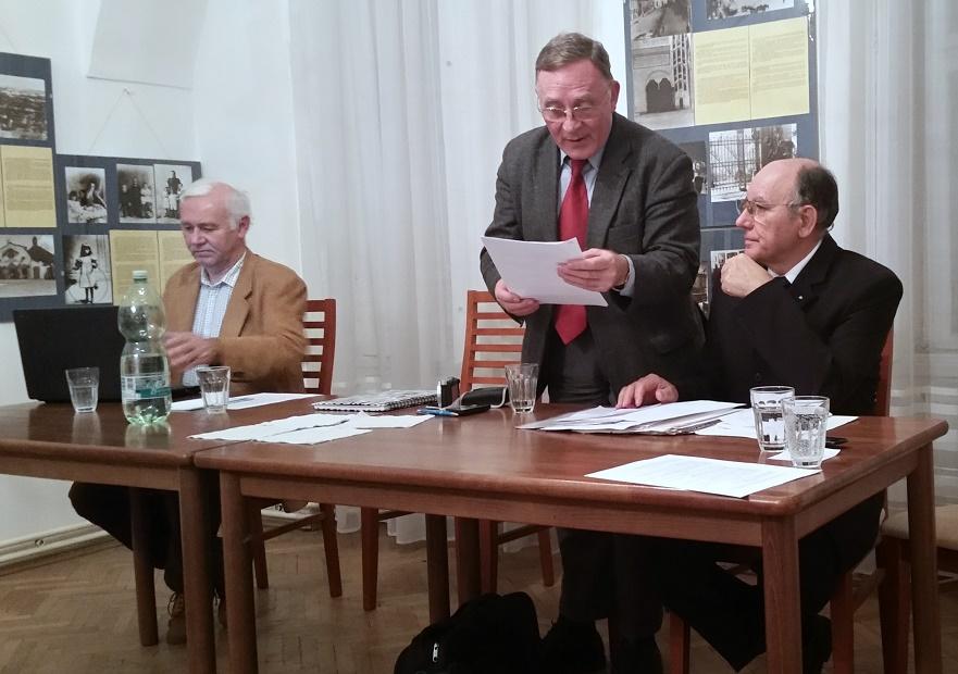 Balassa Zoltán Urbán Károly és Göőz László