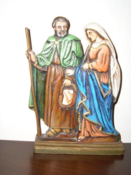 Bernecebaráti Szentcsalád-szobor Csáky Károly felvételén