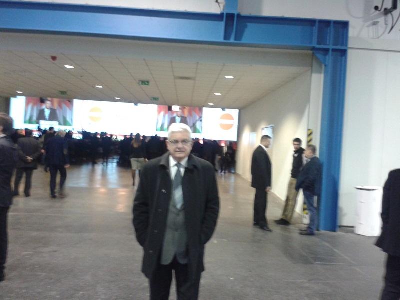 Duray Miklós a Fidesz tisztújító kongresszusán