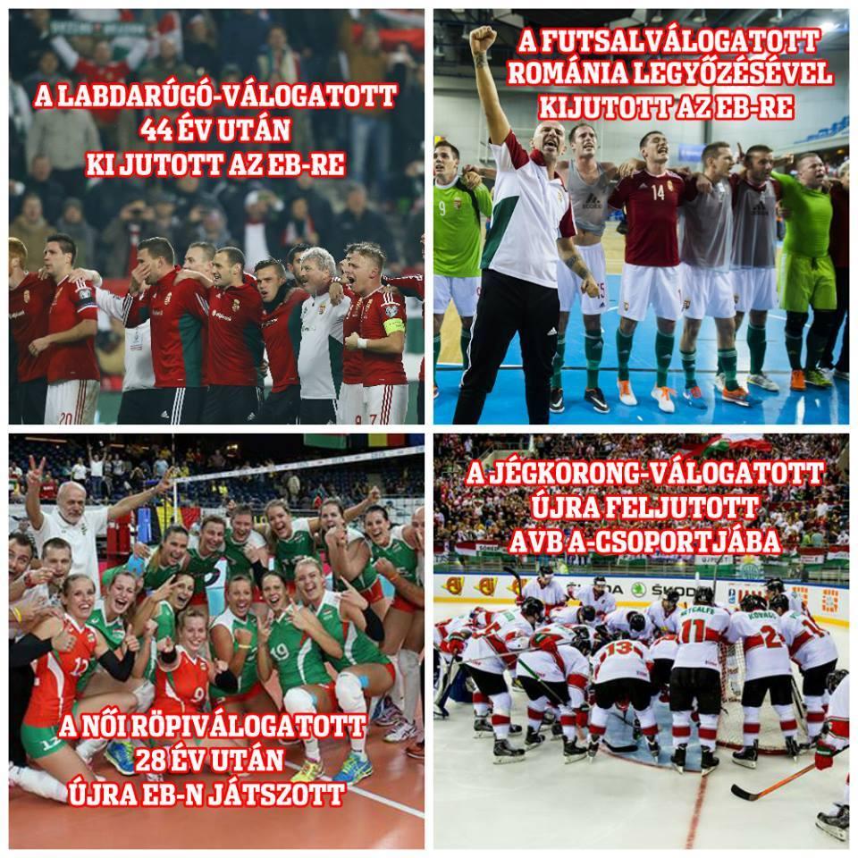 Gyarapodó magyar sikerek