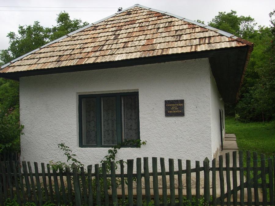 A Csontos-emlékház Csáky Károly felvételén