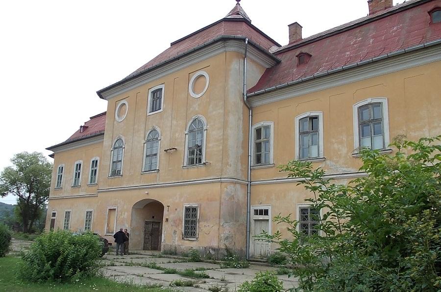 A Zichy-kastély Csáky Károly felvételén