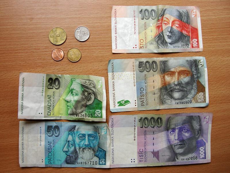 Még mindig sok szlovák korona van kép forrása - compendium.travelvice.com