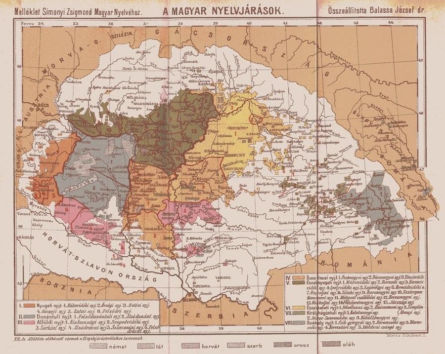 Magyar-nyelvjárások-térkép-1905