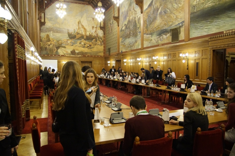 A Vadász terem folytatódott a konferencia